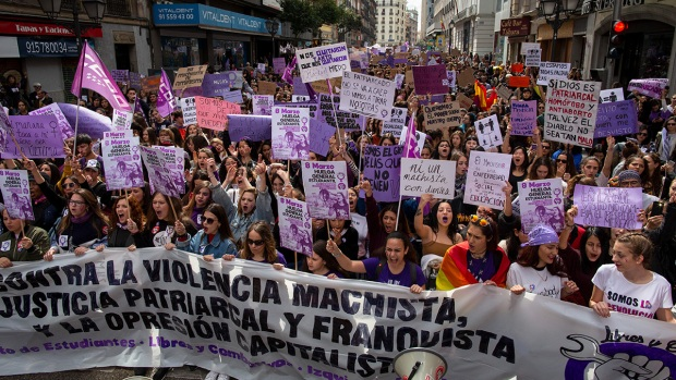 International Women's Day Sparks Demonstrations, Celebrations Across Globe