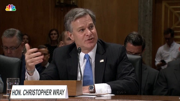[NATL] FBI Went Through 'Usual Process' in Kavanaugh Probe: Wray
