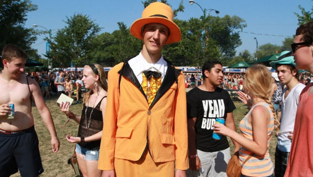Lollapalooza 2012: Weird and Wacky