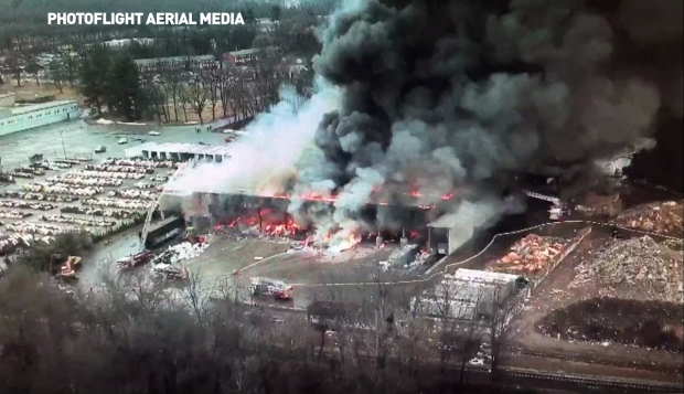 Willimantic Waste Paper Co., Inc. Fire