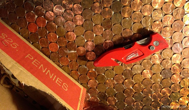 Creating The Penny Floor