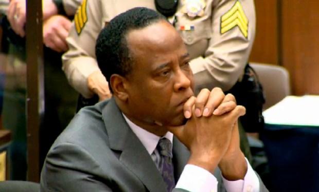 Conrad Murray Receives Sentence