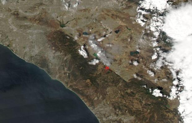 [NATL-LA GALLERY UPDATED 9/2019] Smoke and Fire From Space: Wildfire Images From NASA Satellites