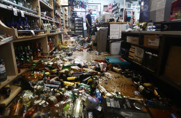 PHOTOS: 7.1 Magnitude Earthquake Rocks Southern California