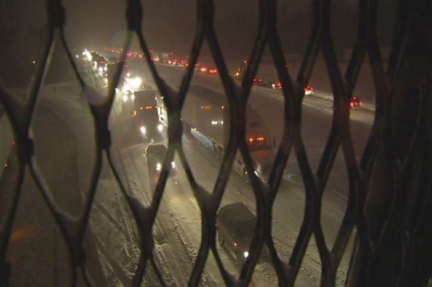 [HAR] First Snow Storm Causes Major Traffic Problems