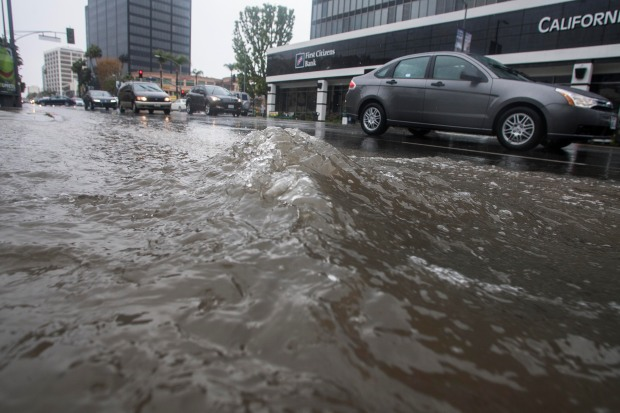 #TrackingtheStorm: Day 2 of Heavy Showers in SoCal