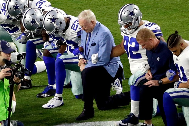 Top Sports: NFL Players Kneel During the National Anthem