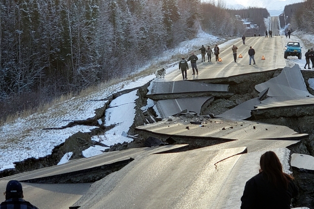 [NATL] 'Violent' 7.0 Magnitude Earthquake Rocks Anchorage