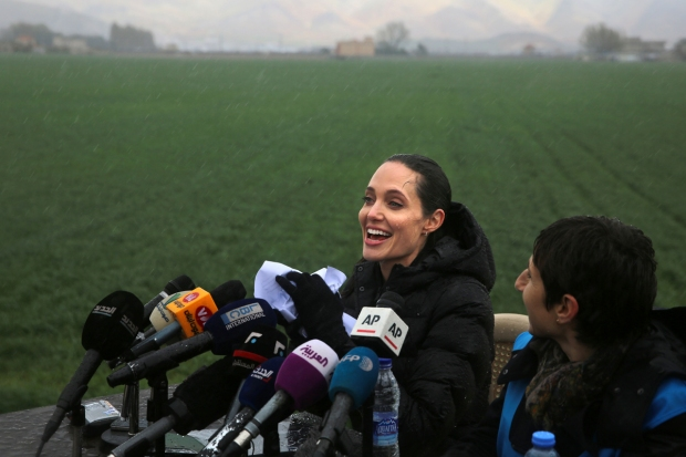 [NATL] Angelina Jolie Speaks on 5th Anniversary of Syria Uprising