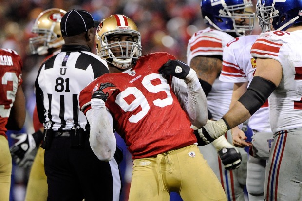 [BAY] 49ers Aldon Smith Responds to Lawsuit Over 2012 Shooting
