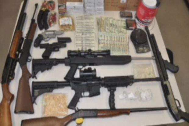 [HAR] Police Seize Drugs And Guns From Cromwell Home