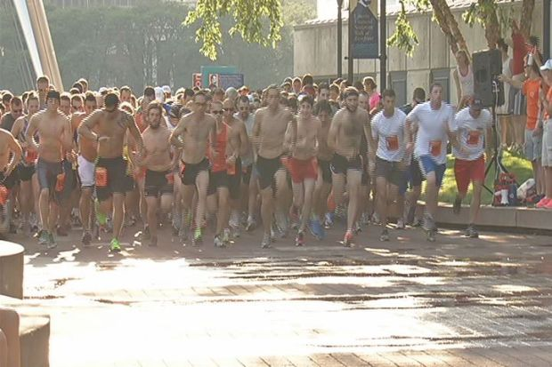 [HAR] Runners Brave Extreme Heat