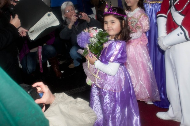 5-Year-Old Becomes Princess for a Day