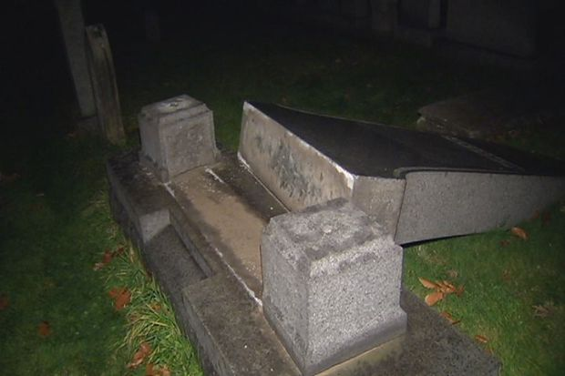 [HAR] Arrests Made In Cemetery Vandalism Case