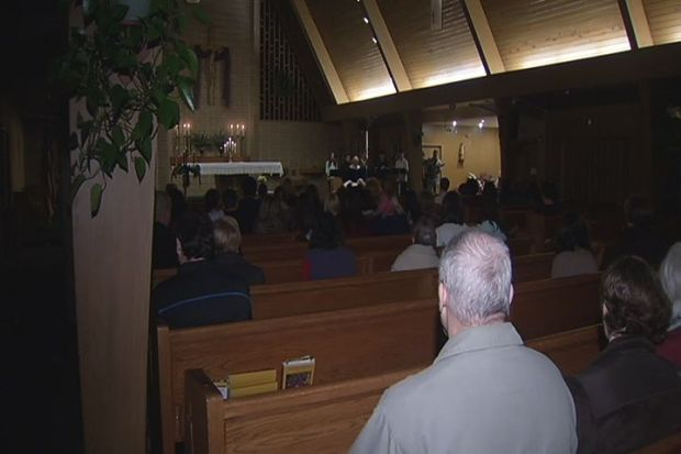[HAR] Mourners Gather at Clinton Church for Hit and Run Victim