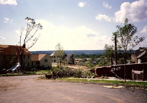 1989 Tornado: Hamden Aftermath