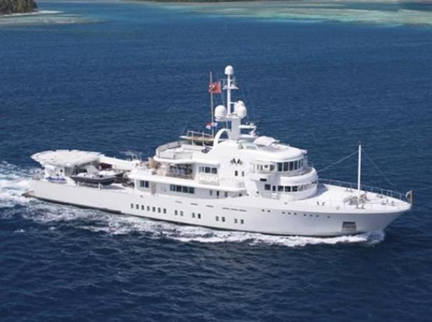 Google Co-Founder Finds a $45M Yacht