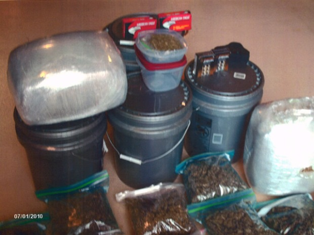 Police Make 52 Pound Drug Bust