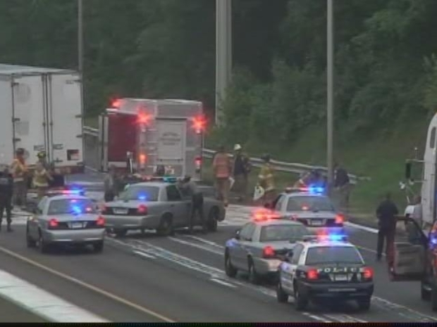 [HAR] I-95 Tractor Trailer Accident