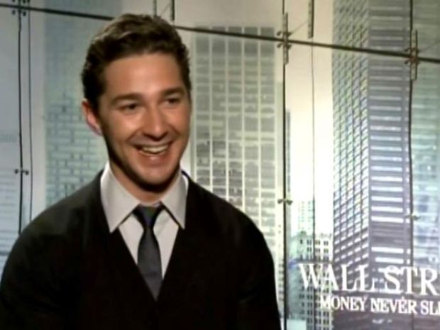 "[NEWSC] Shai LaBeouf: ""I Was Terrified"" of Wall Street Script"