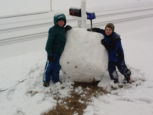 Winter 2012 Snow
