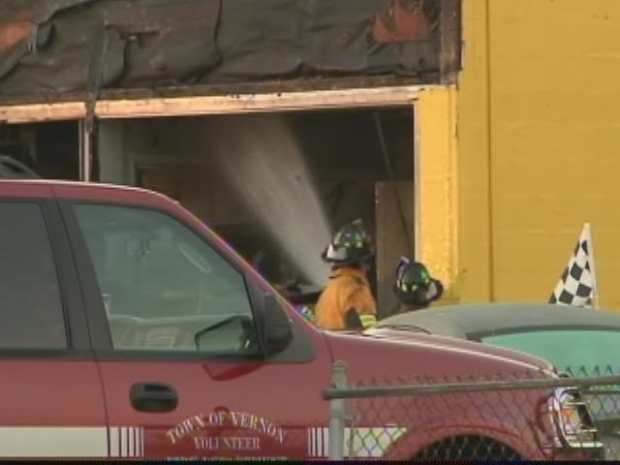 [HAR] Vernon Car Dealership Fire
