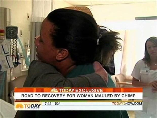 [HAR] Charla Nash Says Goodbye to Cleveland Clinic
