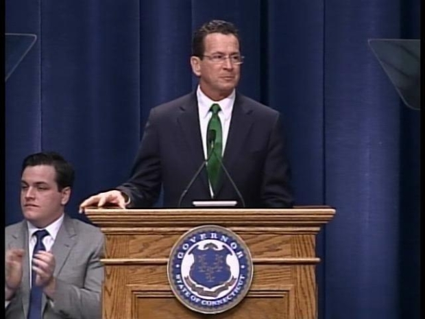 [HAR] Governor Dan Malloy Gives Inaugural Address