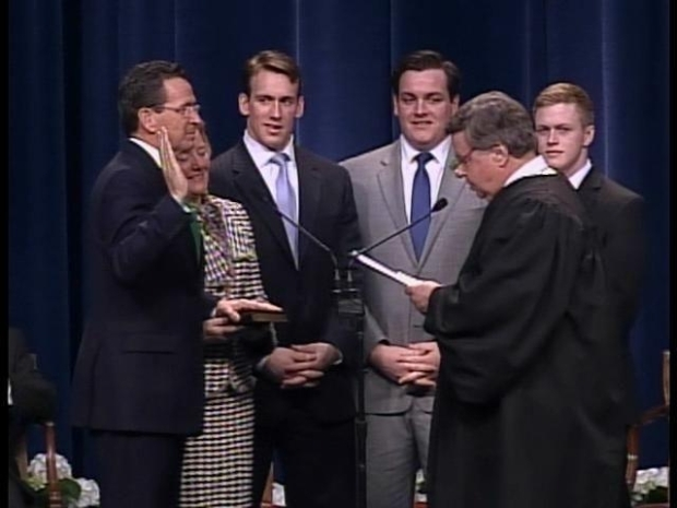 [HAR] Governor Dan Malloy is Sworn In