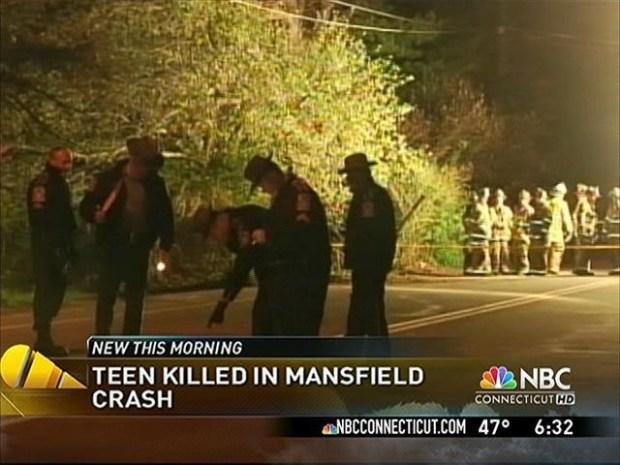 [HAR] Teen Killed in Early Morning Crash