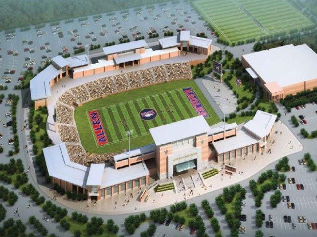 [DFW] Repair Plan for Allen ISD Stadium Revealed