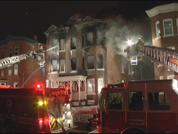 [HAR] Woman Dies Rescuing Pets From Hartford Fire