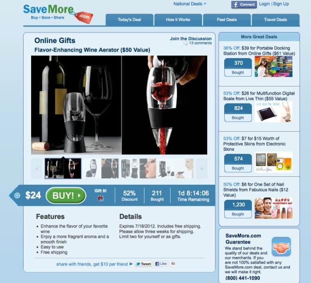 [HAR] Customers Say SaveMore.com Never Delivered