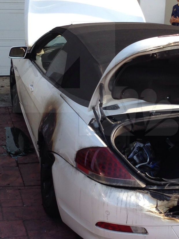 Exclusive Photos: House, Car Torched in Fatal Lightning Storm