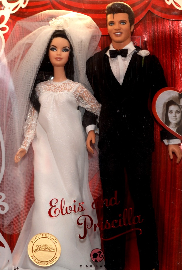 'The King' Immortalized as a Barbie Doll