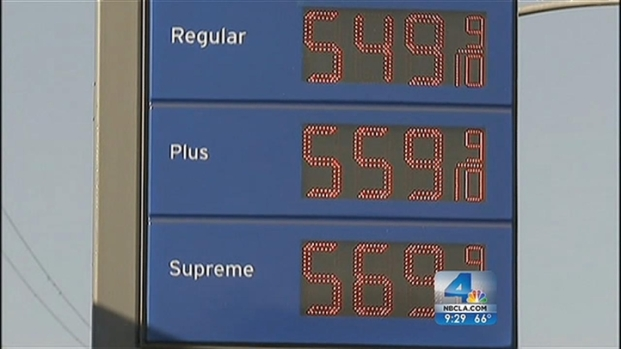 [LA] SoCal Drivers Still Waiting for Gas Price Spike to End