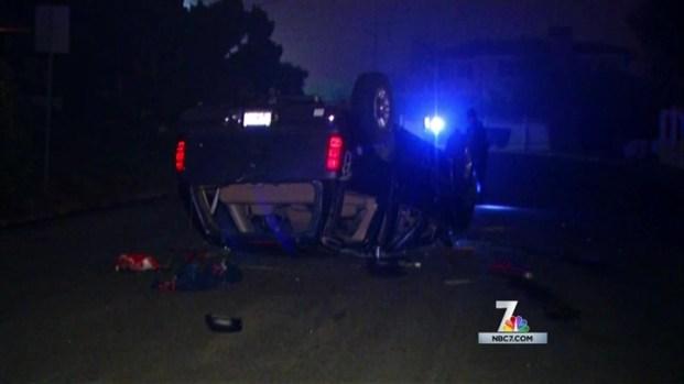 [DGO]16 Teens Inside Rolled Over SUV