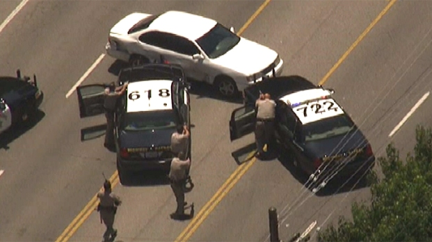 Spinout Ends High-Speed Chase