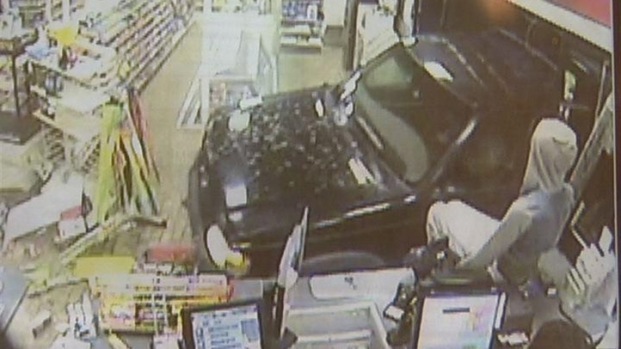 [HAR] SUV Crashes into Convenience Store