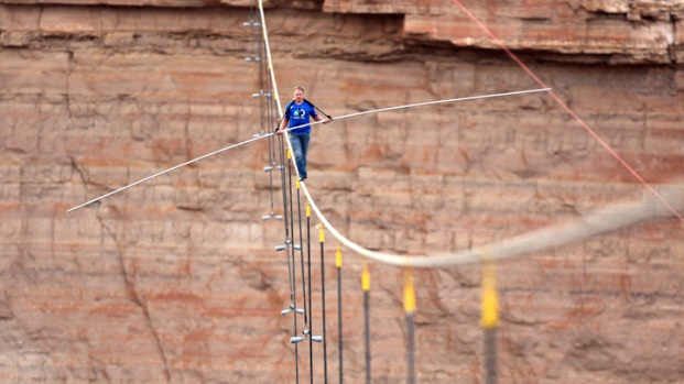 Daredevil Nik Wallenda's Stunts