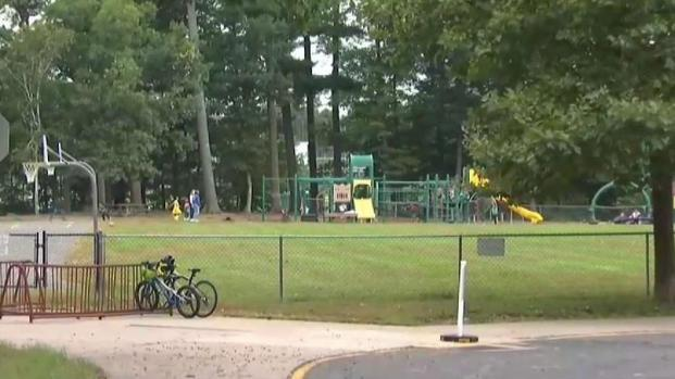 Bear Spotted at Simsbury School Playground