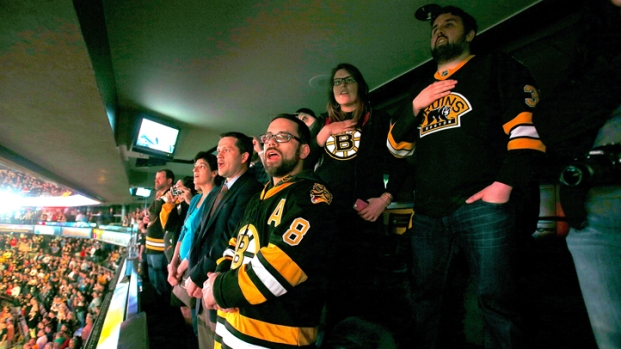 [HAR] Emotional Display from Bruins Fans