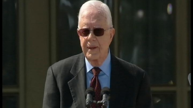 [DFW] Carter at Bush Library