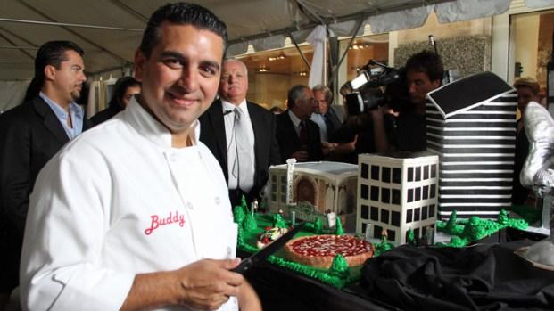 """""""Cake Boss"""" Helps Christen New Rolls Dealership"""