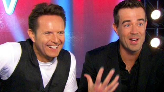 "[NBCAH] Carson Daly & Mark Burnett on ""The Voice"" Season 2"