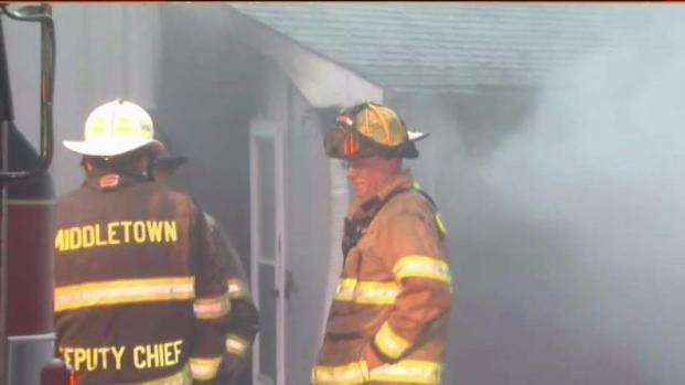 [HAR] Crews Battle Two Alarm Fire in Portland