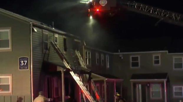 [HAR] Crews Work to Extinguish Fire at Groton Apartment Complex
