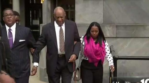 Cosby arrives at court before sex assault trial