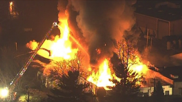 Fire Badly Damages Doylestown Chemical Plant