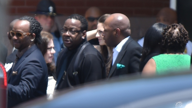 Bobbi Kristina Mourned at Funeral